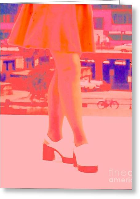 Greeting Card featuring the photograph Chicago Vintage Chic by Ann Johndro-Collins
