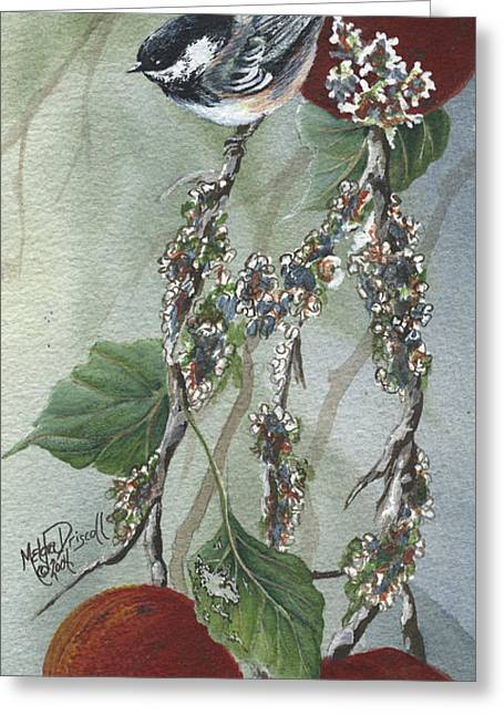 Chickadee Too Greeting Card