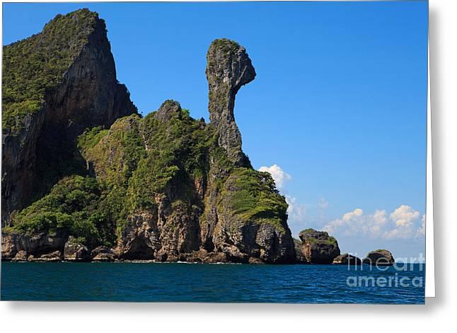 Chicken Island - Malacca Straits  Greeting Card