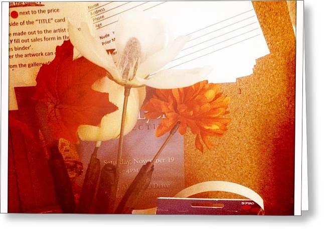 Chico Art Center Still Life Greeting Card