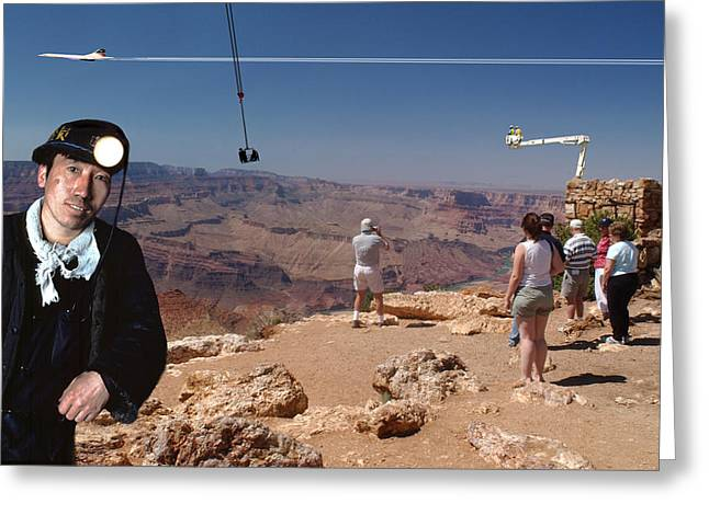 Chinese Buy Grand Canyon-1 Greeting Card by Larry Mulvehill