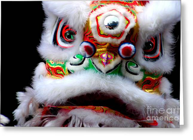 Chinese New Years Nyc 4705 Greeting Card