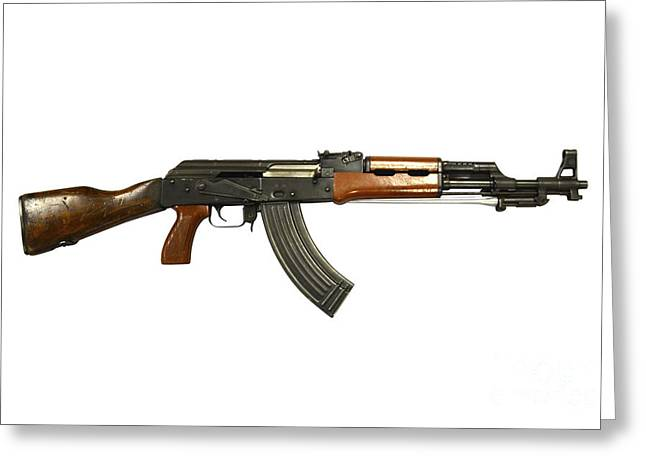 Chinese Type 56 Assault Rifle Greeting Card