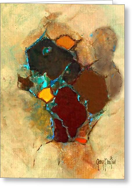 Chipmonk Abstract Greeting Card