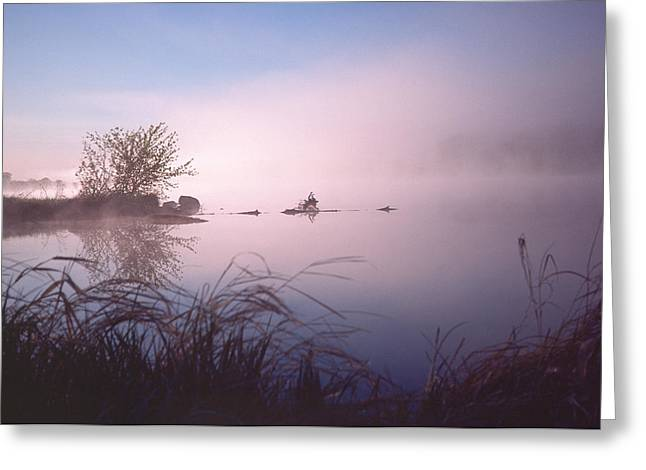 Chippewa River At Dawn Greeting Card