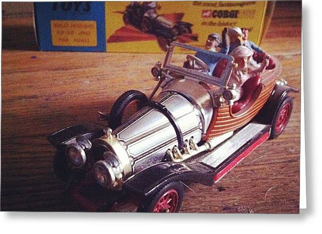 Chitty Chitty Bang Bang Corgi Toy Greeting Card
