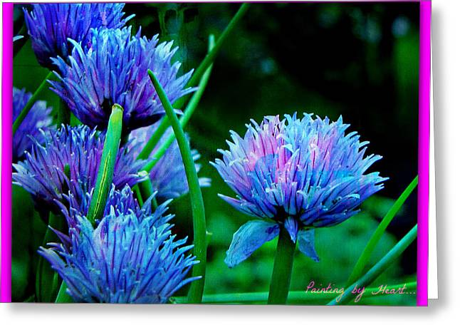Chives For You Greeting Card