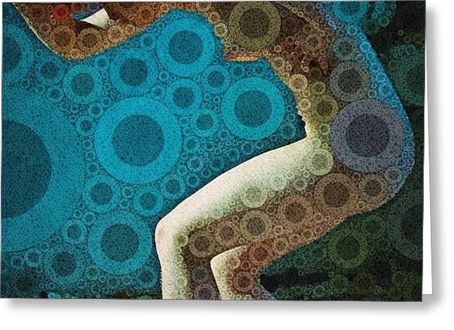 Chlorination Greeting Card by Bryon Paul Mccartney