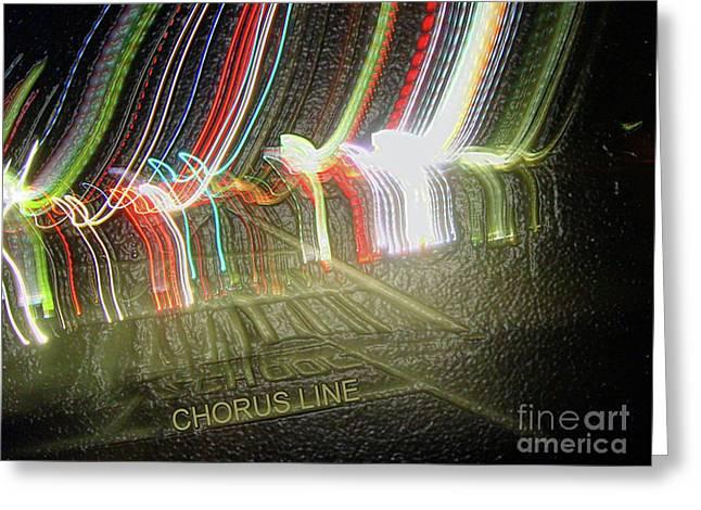 Chorus Line Greeting Card