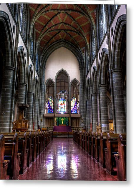 Christ Church Cathedral Greeting Card by Matt Dobson