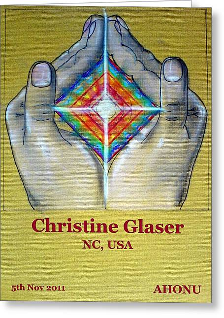 Christine Glaser Greeting Card