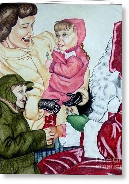 Christmas 1953 Greeting Card