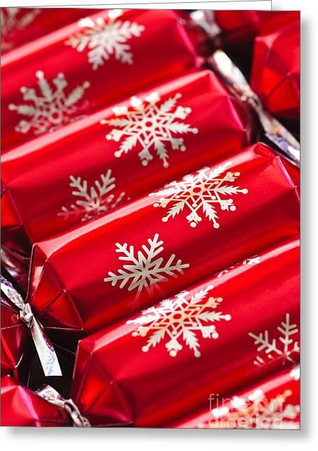 Christmas Crackers Greeting Card by Elena Elisseeva