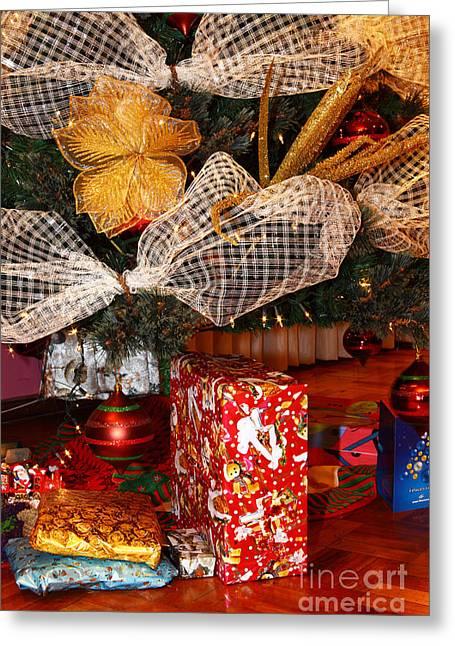 Christmas Giving Greeting Card