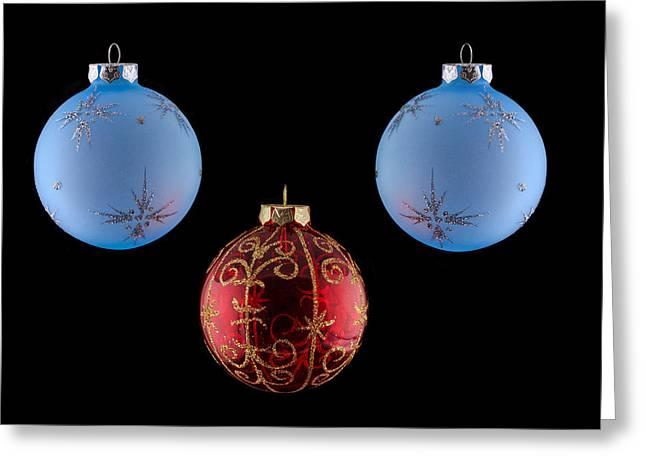 Christmas Ornaments Greeting Card by Doug Long