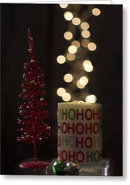 Christmas Still Life Greeting Card