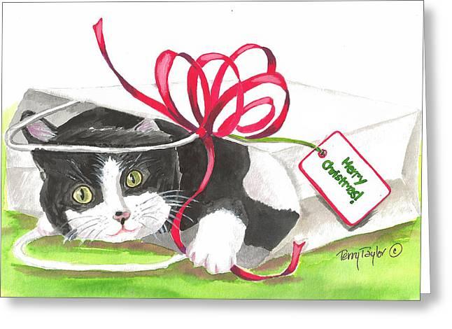 Christmas Surprise Greeting Card