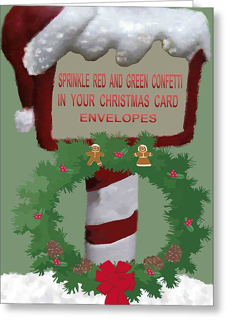 Christmas Traditions Cards  4 Greeting Card