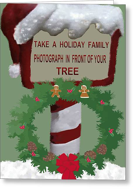 Christmas Traditions Cards 6 Greeting Card