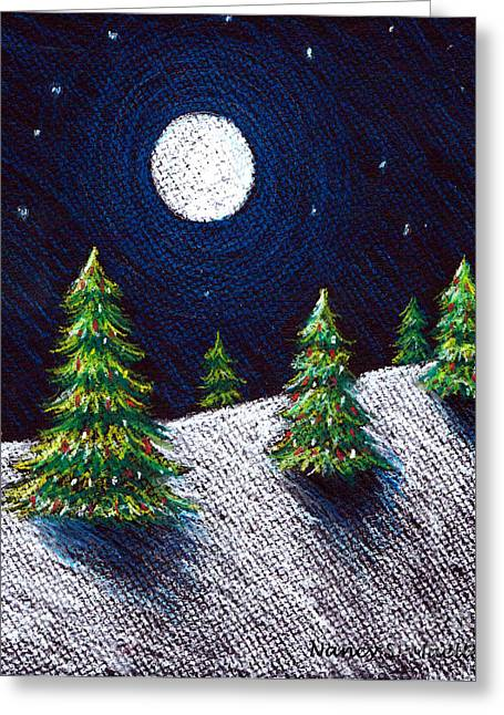 Christmas Trees II Greeting Card