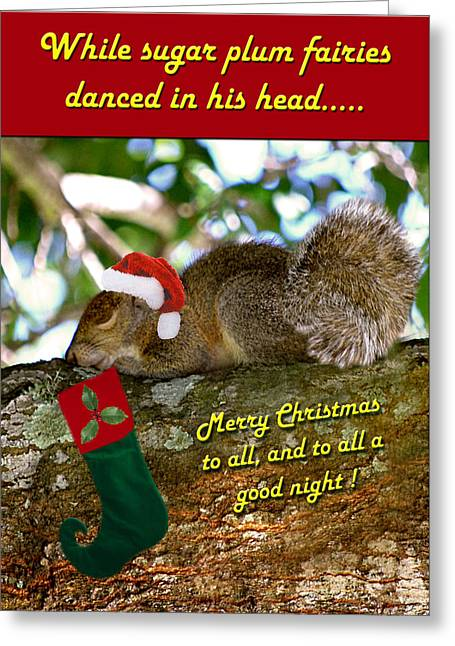 Christmas Wish Greeting Card by Adele Moscaritolo