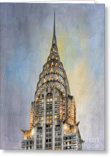 Chrysler Building I Greeting Card by Clarence Holmes
