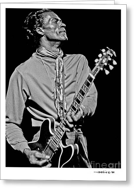 Chuck Berry 2 Greeting Card