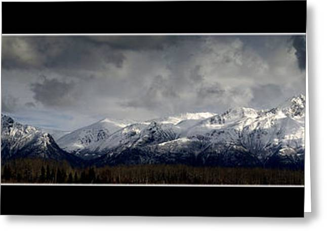 Chugach Mountains Greeting Card