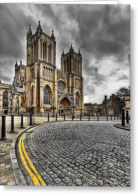 Church Of England Greeting Card by Adrian Evans