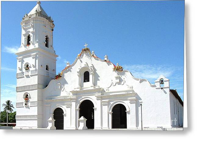Church Of Nata De Los Caballeros Greeting Card