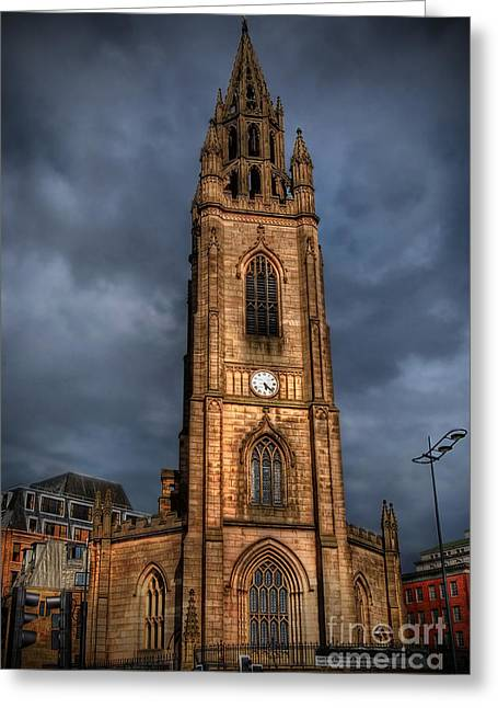 Church Of Our Lady - Liverpool Greeting Card by Yhun Suarez