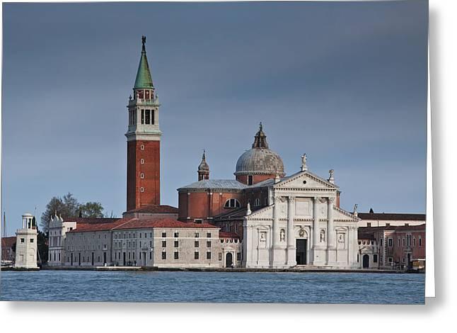 Church Of San Giorgio Maggiore Venice Italy Greeting Card