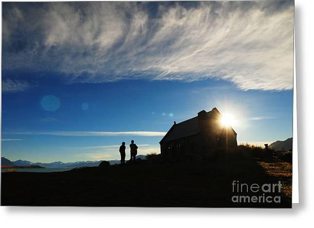 Church Of The Good Shepherd Greeting Card by Mc Mc