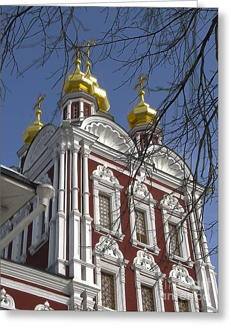 Churches Russia6 Greeting Card by Yury Bashkin
