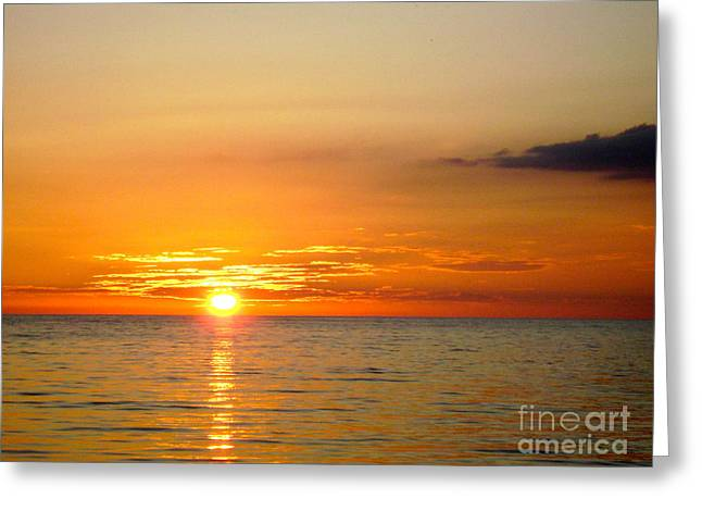 Cienfuegos Sunset  Greeting Card by Laurel Fredericks