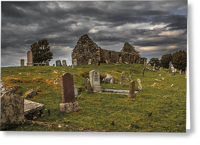 Cill Chriosd Churchyard Greeting Card