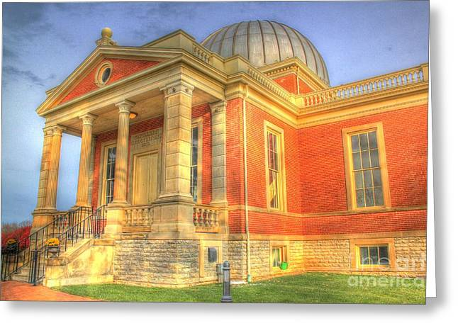 Cincinnati Observatory Up Close Greeting Card