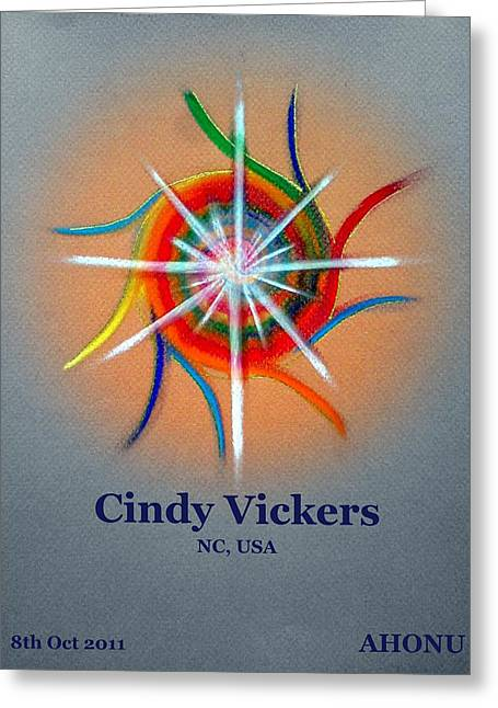 Cindy Vickers Greeting Card
