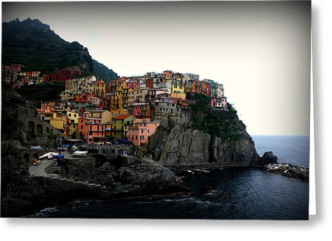 Cinque Terre Greeting Card by Kevin Flynn