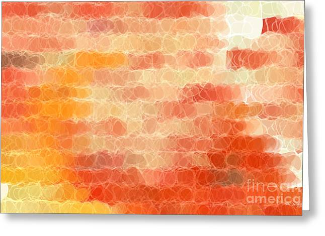 Circles And Squares Fourteen. Big Painting Modern Decor Collection Greeting Card by Mark Lawrence