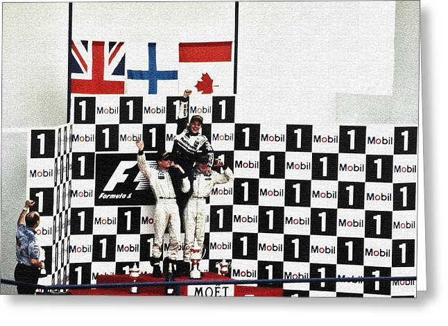 Circuito De Jerez 1997 Greeting Card by Juergen Weiss