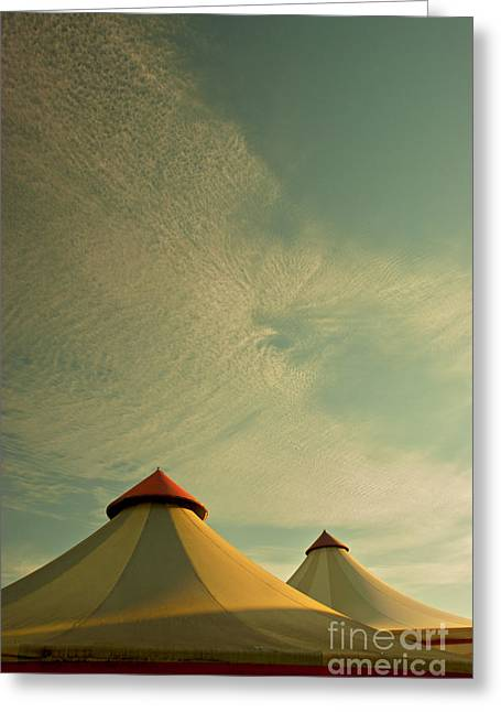 Circus Summers Greeting Card by Paul Grand