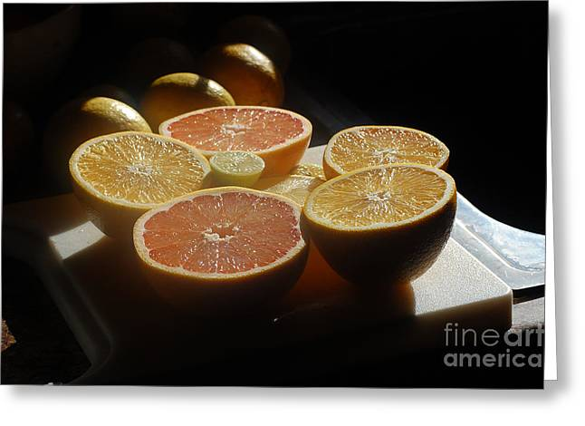 Citrus I Greeting Card by Robert Meanor