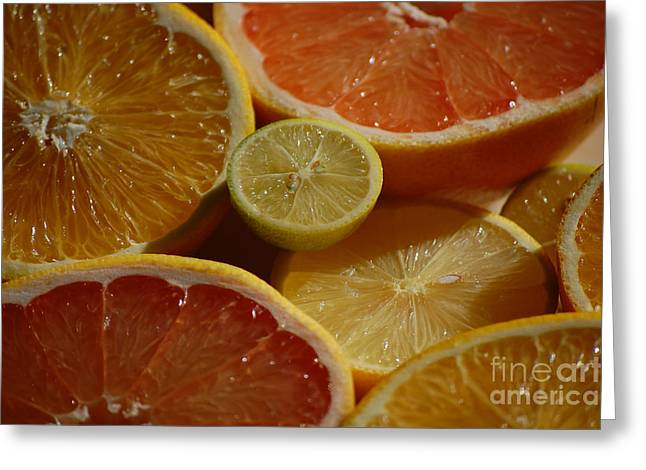 Citrus II Greeting Card by Robert Meanor