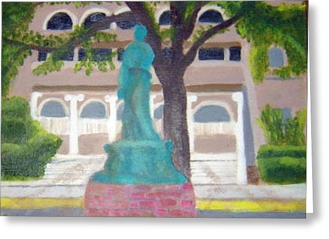 City Club In Baton Rouge Greeting Card by Margaret Harmon