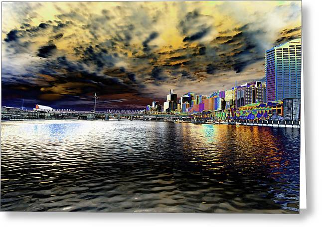 City Of Color Greeting Card by Douglas Barnard