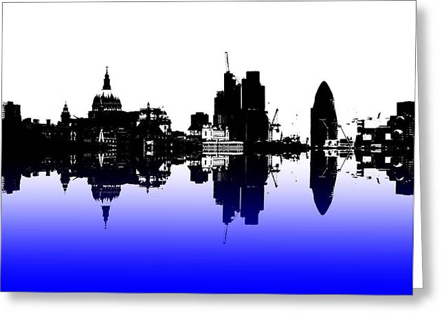 City Of Culture Greeting Card by Sharon Lisa Clarke