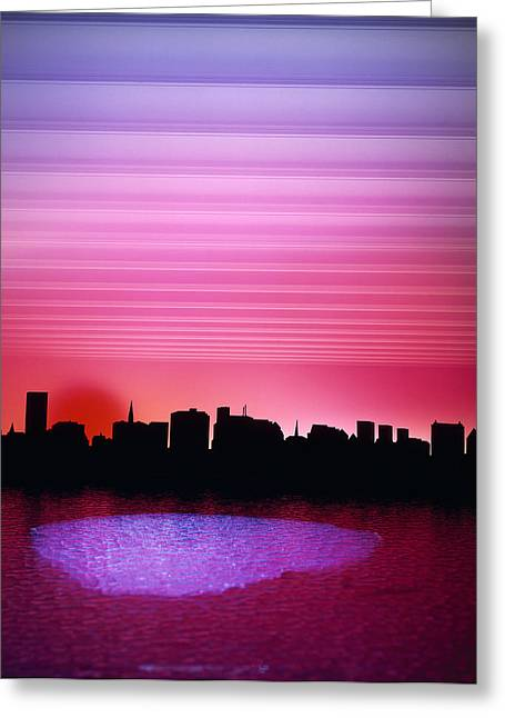 City Of My Dreams Greeting Card by Jan W Faul