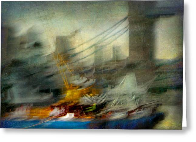 Greeting Card featuring the photograph Cityscape #28 by Alfredo Gonzalez