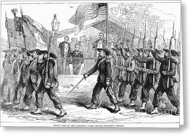 Civil War: 39th Regiment Greeting Card by Granger